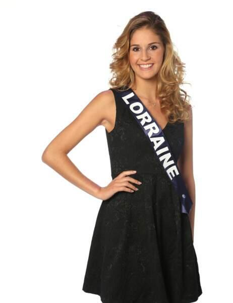 Miss Lorraine - Charline Keck, 19 ans, 1m78