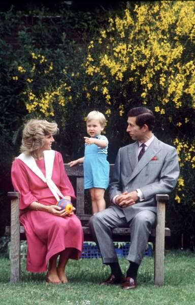 C'est dans ce jardin que Lady Diana a vu grandir ses enfants