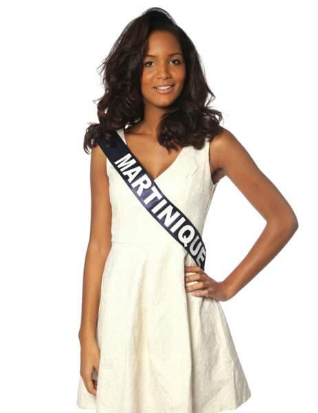 Miss Martinique - Nathalie Fredal, 19 ans, 1m75