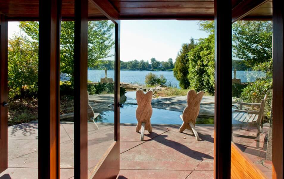 La belle vue sur le lac
