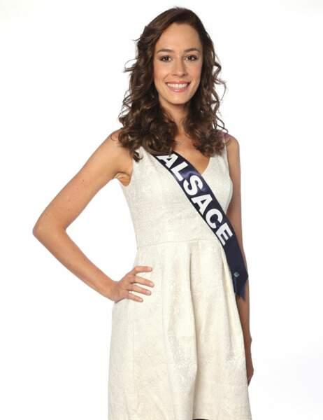 Miss Alsace - Laura Strubel, 24 ans, 1m82