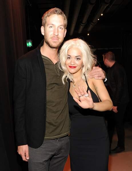 Rita Ora et son petit ami, Calvin Harris