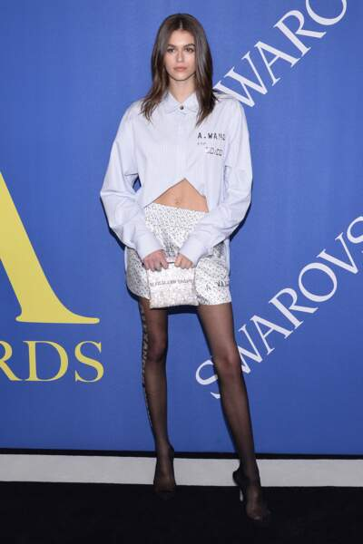 Kaia Gerber aux CFDA Fashion Awards 2018