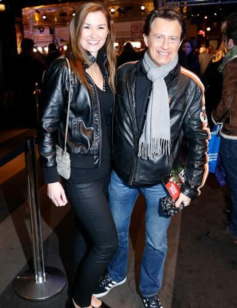 Vincent Perrot et sa compagne