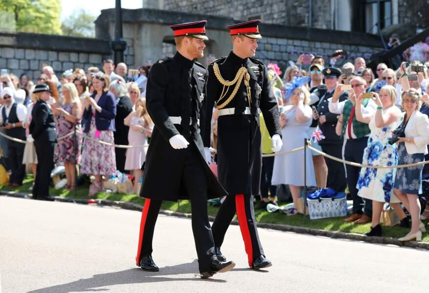 Le prince Harry et le prince William