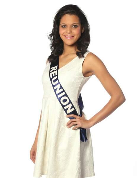 Miss Réunion - Vanille M'doihama, 21 ans, 1m74