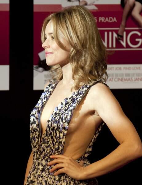 Le sideboob peut aussi être discret et élégant, comme le montrent Rachel McAdams...