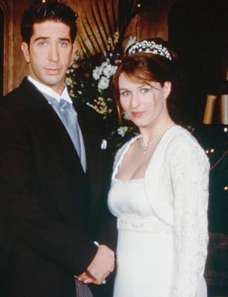 Ross s'est aussi marié avec Emily Waltham