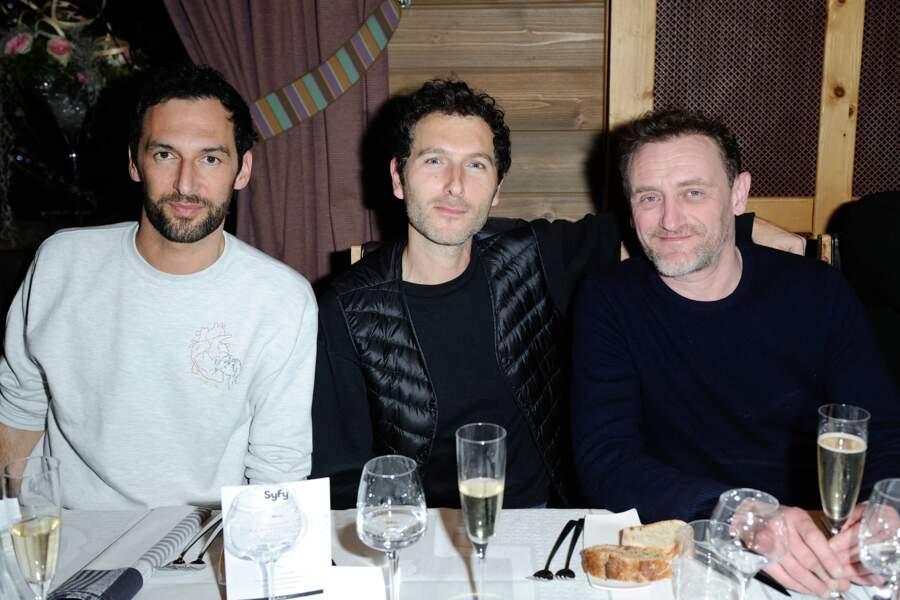 Olivier Coursier, Simon Buret et Jean-Paul Rouve