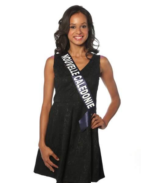 Miss Nouvelle Calédonie - Agnès Latchimy, 22 ans, 1m72