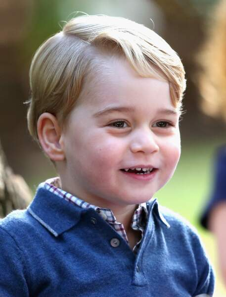 Anniversaire du Prince George - Les Canadiens avaient tout prévu pour amuser le bambin