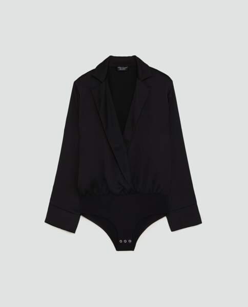 Body à épaulettes, Zara, 39,95 euros