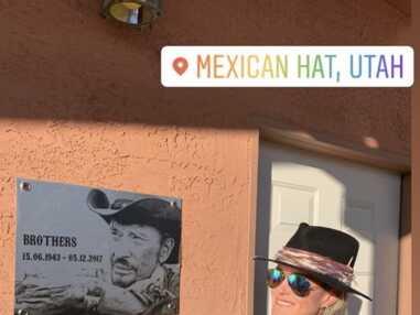 PHOTOS Laeticia Hallyday : son road trip sur les traces de Johnny avec les amis du chanteur