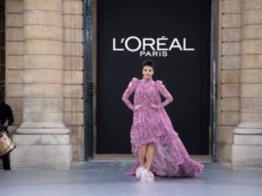 Défilé L'Oréal Paris : les stars défilent