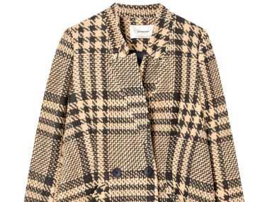 Shopping : 10 manteaux à carreaux à moins de 50€