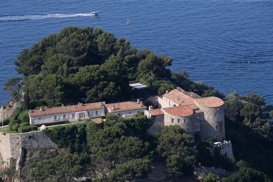 La piscine d'Emmanuel et Brigitte Macron au fort de Brégançon