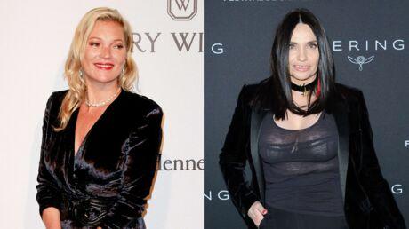 PHOTOS Kate Moss et Béatrice Dalle s'embrassent langoureusement au dîner Vogue, la toile s'embrase