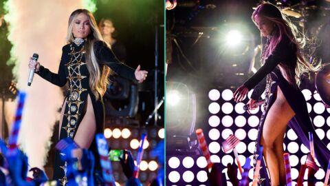 PHOTOS Jennifer Lopez: trahie par son costume de scène, elle en montre trop