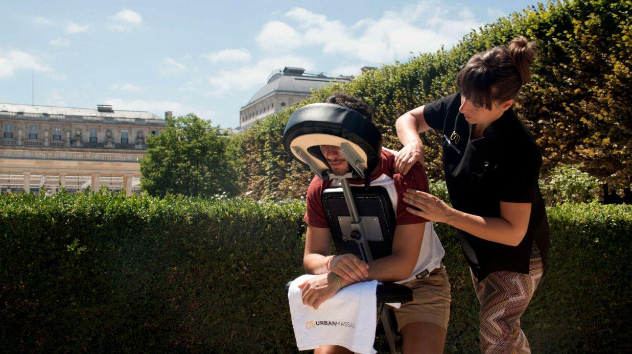 Bon plan: un «Urban Massage» gratuit dans les parcs parisiens jusqu'au 27 juillet 2017