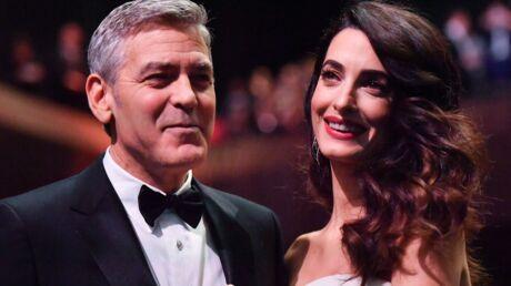 PHOTO George et Amal Clooney: premier voyage en jet privé pour leurs jumeaux