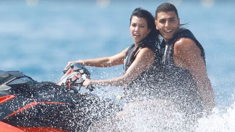 PHOTOS Kourtney Kardashian et Younes Bendjima en amoureux à Saint-Tropez