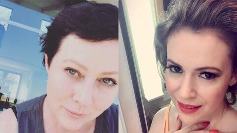 Alyssa Milano et Shannen Doherty se sont ENFIN réconciliées