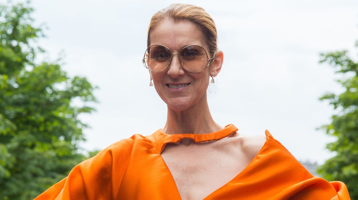 PHOTOS Céline Dion reçoit un chèque de ses fans pour sa fondation