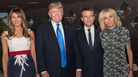 PHOTOS Mélania Trump à Paris: son joli clin d'oeil au drapeau français