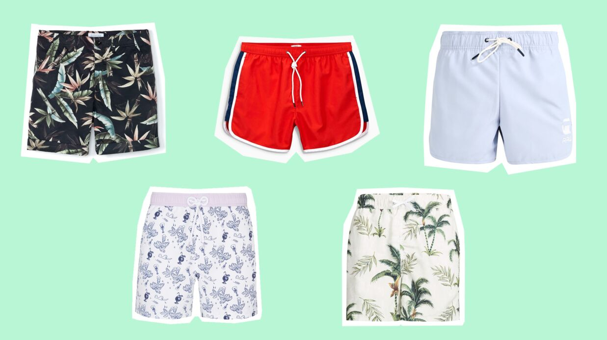 PHOTOS Maillots de bain homme: 20 shorts de bain tendance pour cet été