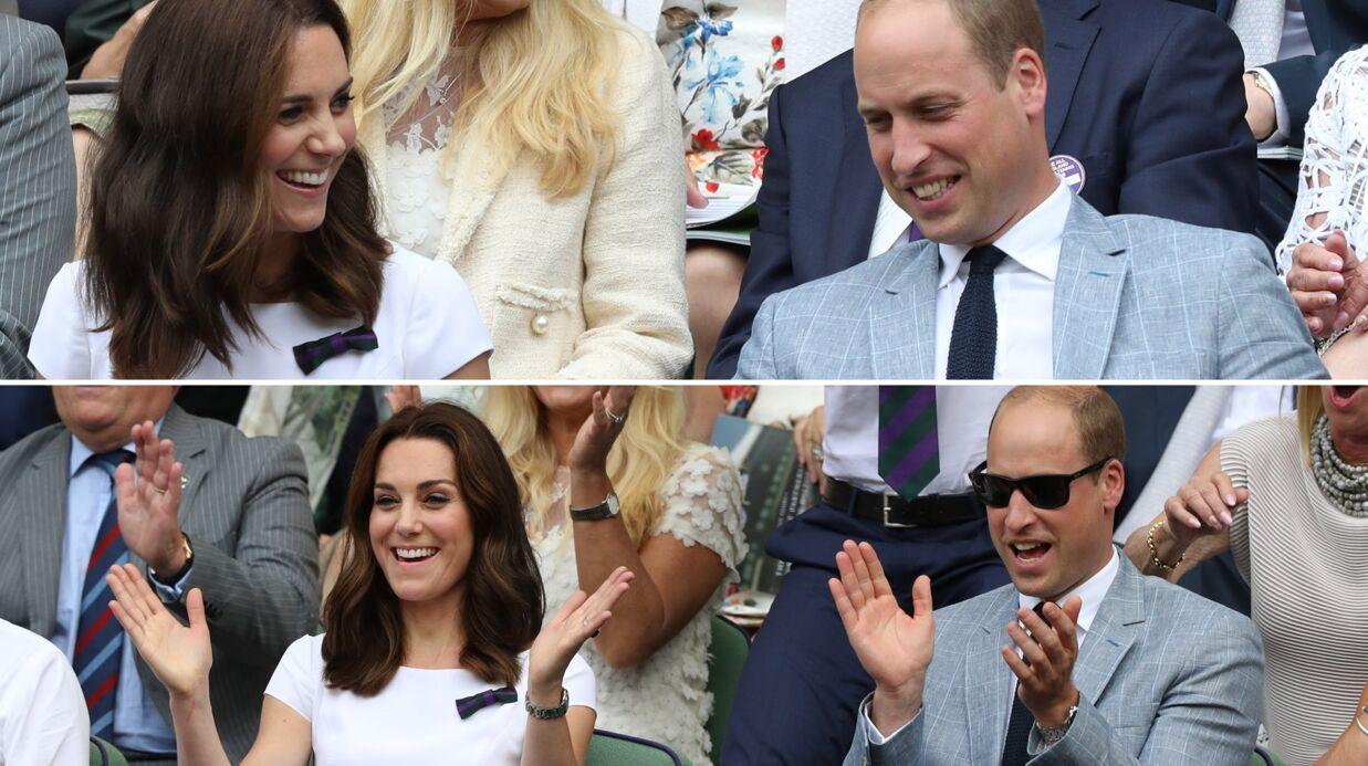 PHOTOS Kate Middleton et le prince William amoureux, complices et euphoriques à Wimbledon