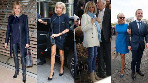 PHOTOS Brigitte Macron: a-t-elle changé de style depuis qu'elle est première dame?