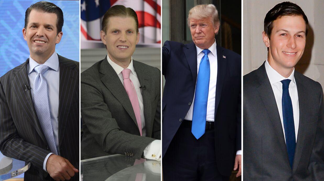 Donald Trump: en coulisses, ses fils se battent entre eux pour le pouvoir