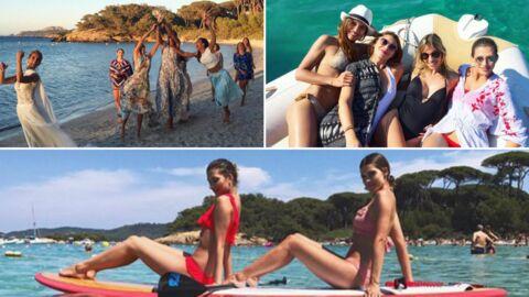 PHOTOS Fous rires, looks sexy et course au bouquet, le mariage de Sylvie Tellier vu par les Miss