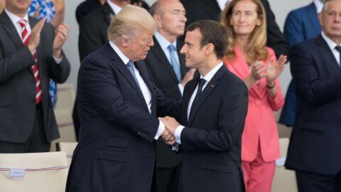Donald Trump sur Emmanuel Macron: «Les gens ne réalisent pas à quel point il adore me tenir la main»