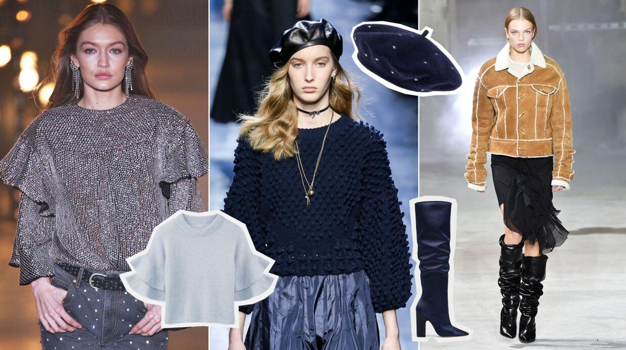 Photos les tendances mode de l automne hiver 2017 2018 voici - Tendance mode automne hiver 2018 ...