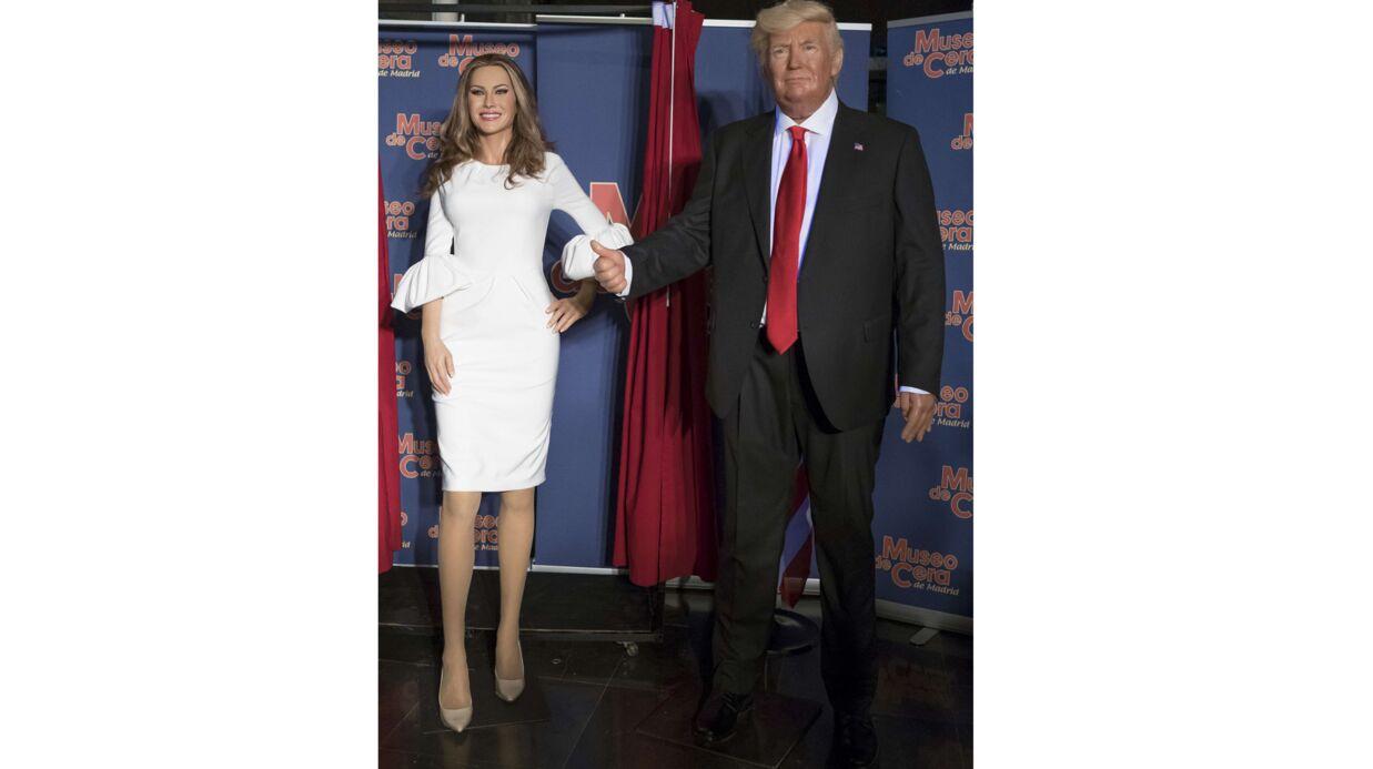 PHOTOS Melania Trump: sa statue flippante et ratée d'un musée de cire à Madrid