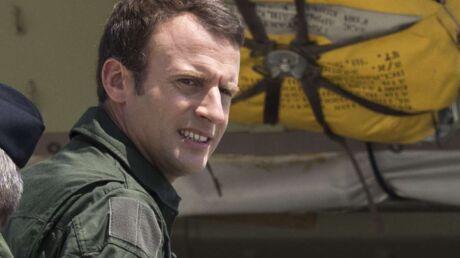 PHOTOS Emmanuel Macron en uniforme d'aviateur, façon Tom Cruise dans Top Gun