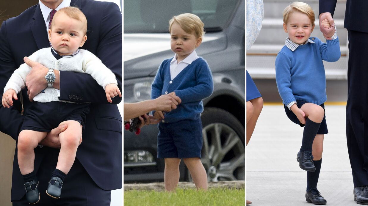 PHOTOS Le prince George a 4 ans: retour en images sur un adorable bambin devenu grand