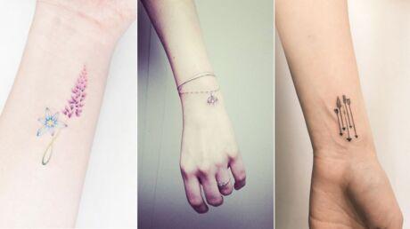 20 idées de petits tatouages pour le poignet