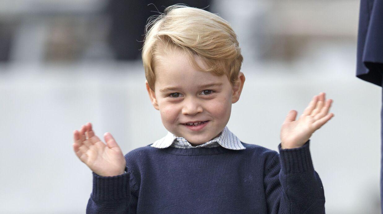 Kate Middleton et le prince William dévoilent une nouvelle photo de George pour ses 4 ans