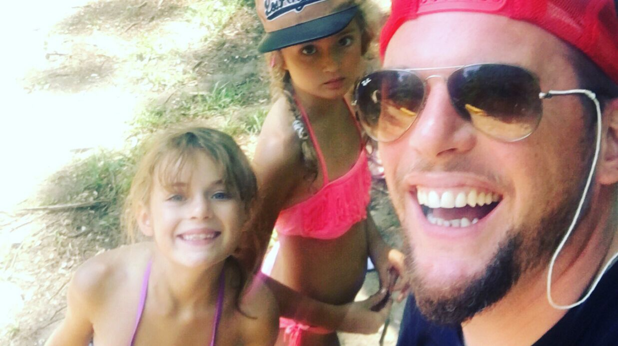 PHOTO Norbert Tarayre s'éclate en vacances avec ses filles