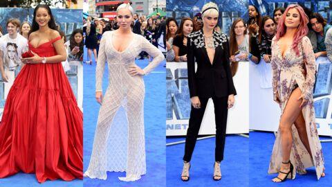 PHOTOS Valerian: Rihanna ose le maxi décolleté, deux stars britanniques en montrent trop