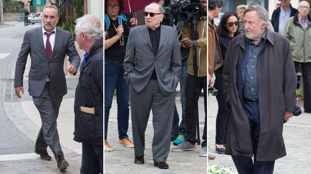 Obsèques de Claude Rich: Antoine Duléry, Claude Brasseur… l'émotion de ses amis du cinéma