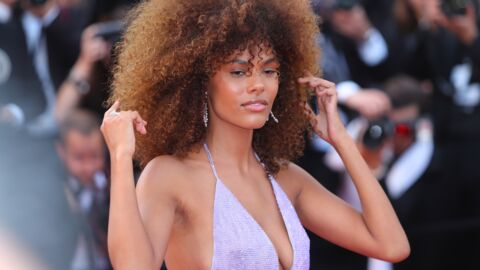 PHOTO Tina Kunakey pose en maillot de bain transparent