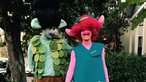 DEVINETTE Quel couple de stars mondialement célèbres se cache derrière ces déguisements?