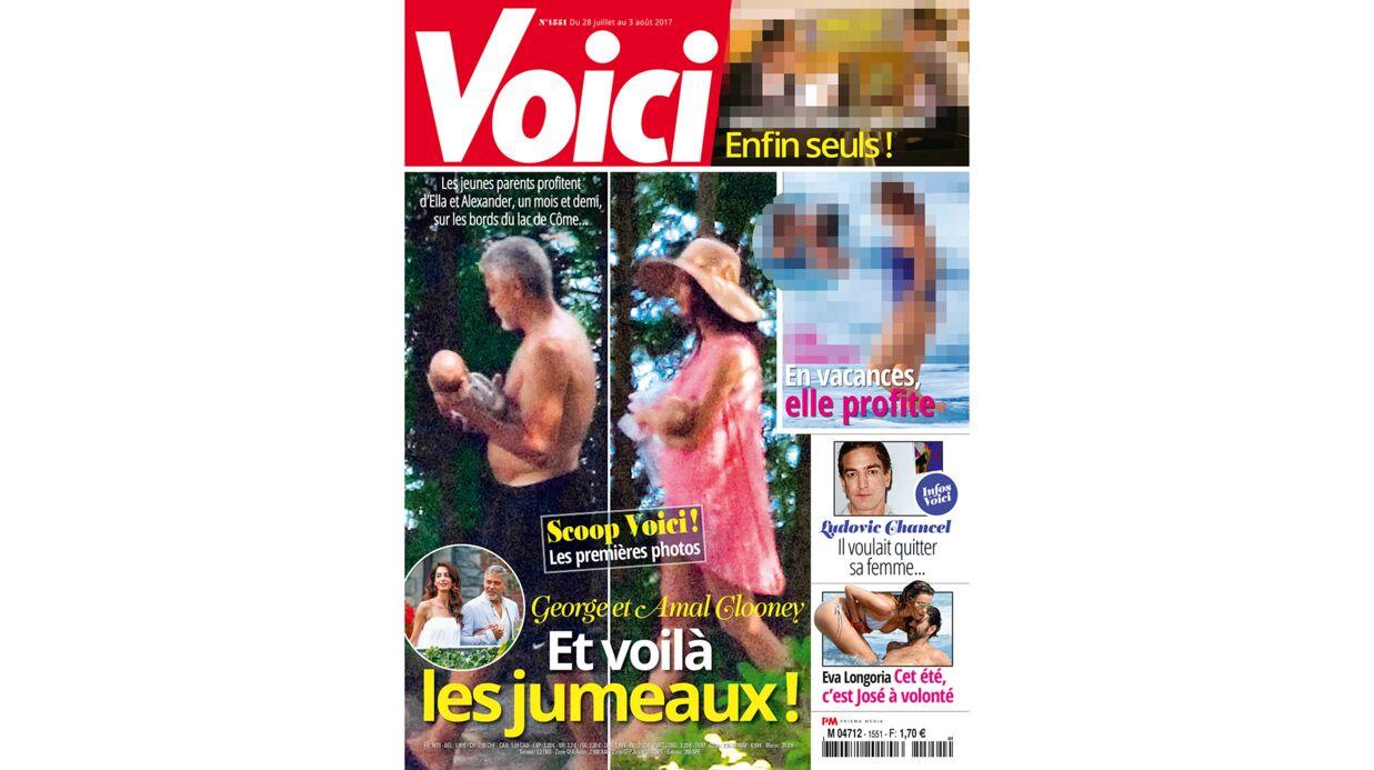EXCLU – Découvrez les premières photos d'Ella et Alexander, les jumeaux de George et Amal Clooney