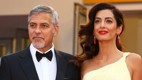 Exclu – Voici publie les toutes premières photos des jumeaux de George et Amal Clooney