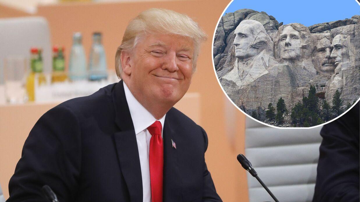 Donald Trump blague sur le Mont Rushmore: les internautes le tournent en ridicule et c'est génial