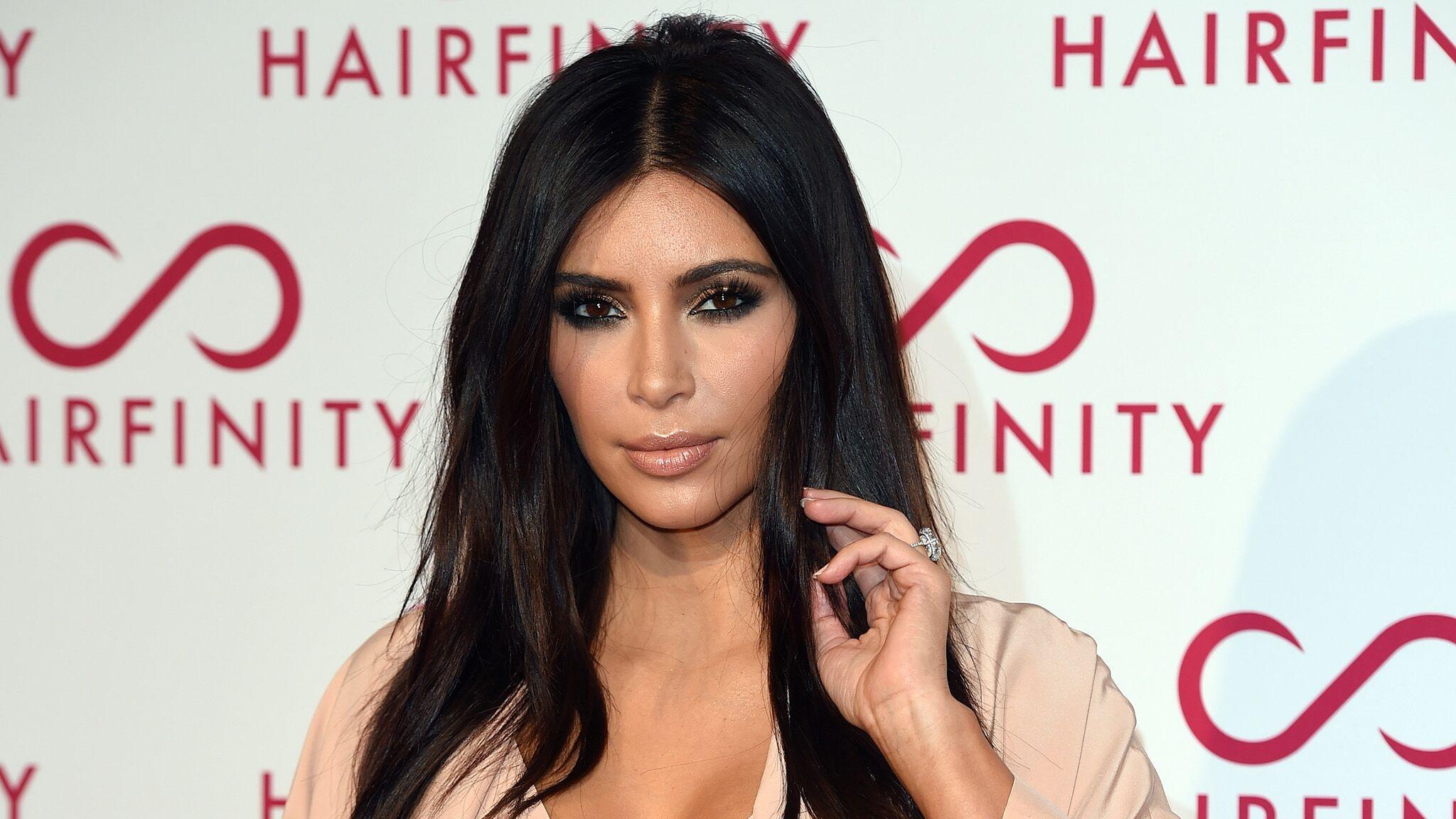 Kim Kardashian Une Photo Souvenir Et Un Message Tres Emouvant Pour