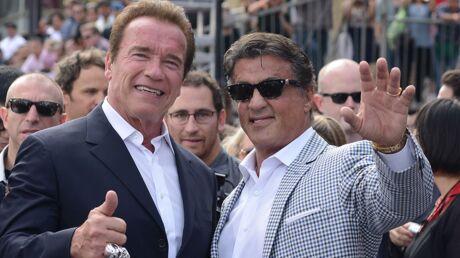 PHOTO Sylvester Stallone sort les muscles pour souhaiter un joyeux anniversaire à Arnold Schwarzenegger